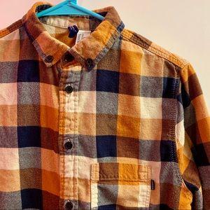 Flannel Button Down / XS / H&M